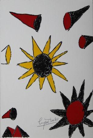 リトグラフ Ionesco - New Year's Card