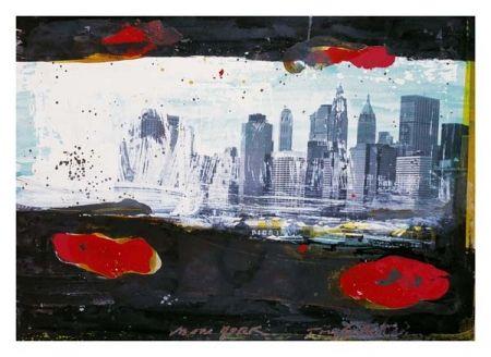 リトグラフ Soulie - New York