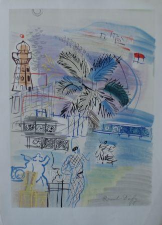 リトグラフ Dufy - Nice