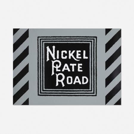 シルクスクリーン Cottingham - NIckel Plate Road Railway