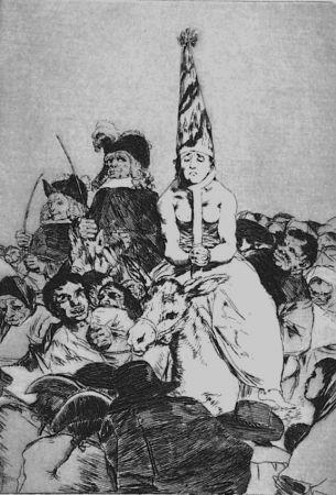 エッチングと アクチアント Goya - Nohubo Remedio