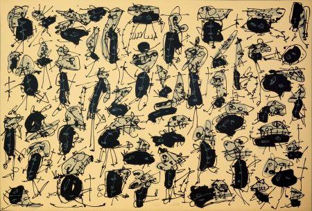 リトグラフ Saura - Nombre de curés, Planches 1