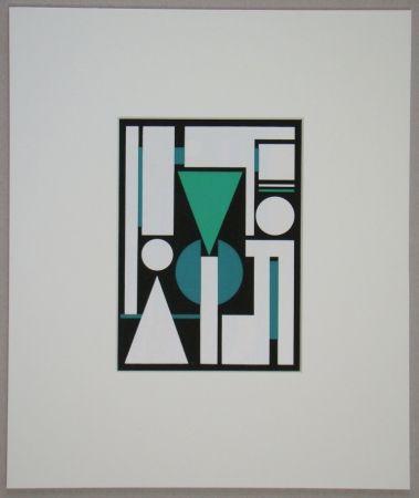 シルクスクリーン Herbin - Non, 1951