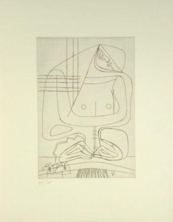 彫版 Le Corbusier -