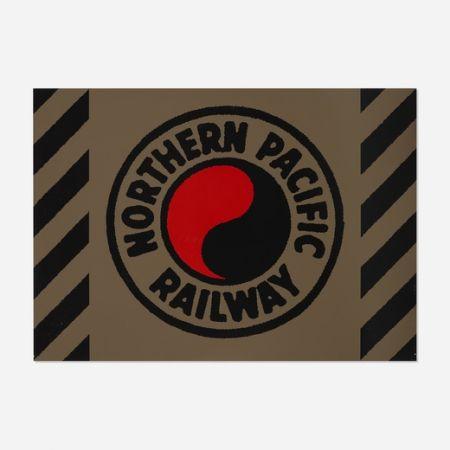 シルクスクリーン Cottingham - Northern Pacific Railway