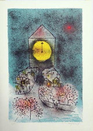 リトグラフ Rognoni - Notturno