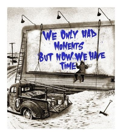 シルクスクリーン Mr Brainwash - Now Is The Time