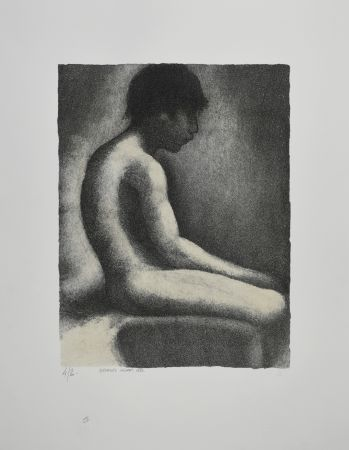 リトグラフ Seurat - NU ASSIS / SEATED NUDE, 1883