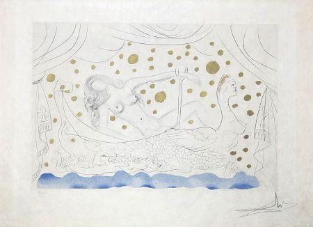 彫版 Dali - Nu au bain