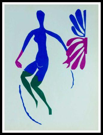 リトグラフ Matisse (After) - NU AU ROSEAUX