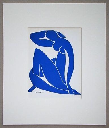 リトグラフ Matisse - Nu Beu - 1952