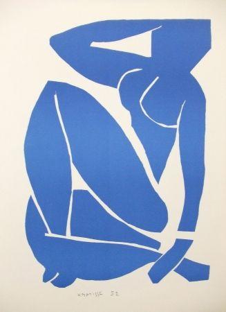 リトグラフ Matisse - Nu bleu (III)