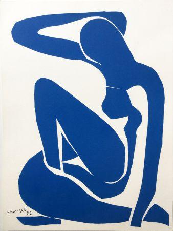 リトグラフ Matisse - NU BLEU III (1952/1958)