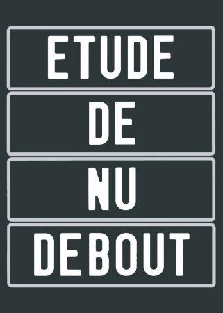 シルクスクリーン Ducorroy - Nu (Collection Naked)