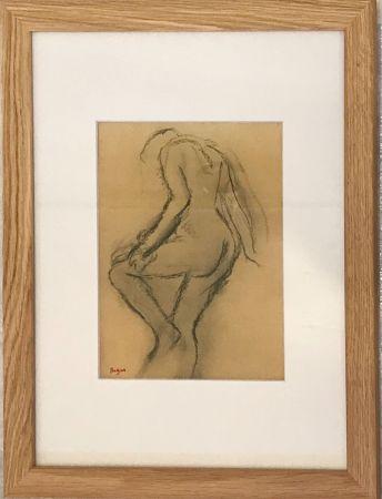 リトグラフ Degas - Nu de dos
