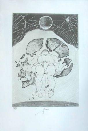 彫版 Trémois - Nu masculin