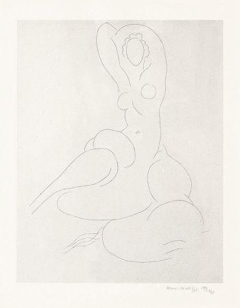 彫版 Matisse - Nu Pour Cleveland
