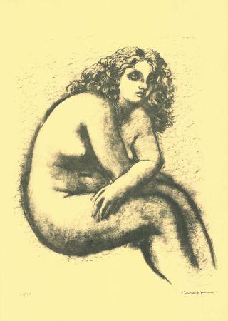 リトグラフ Messina - Nude