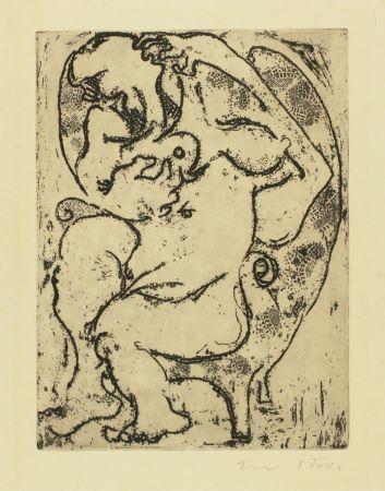 彫版 Filla - Nude in an armchair