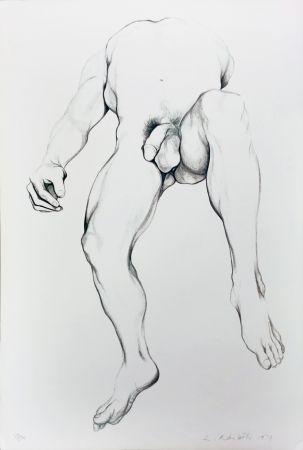 リトグラフ Nesbitt - Nude Male 6