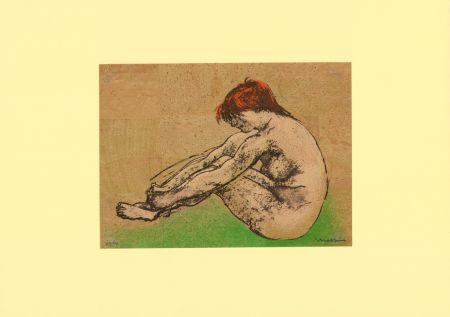 リトグラフ Messina - Nudo / Nude