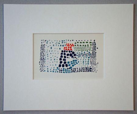 リトグラフ De Stael - Nuit au Parc des Princes - 1952