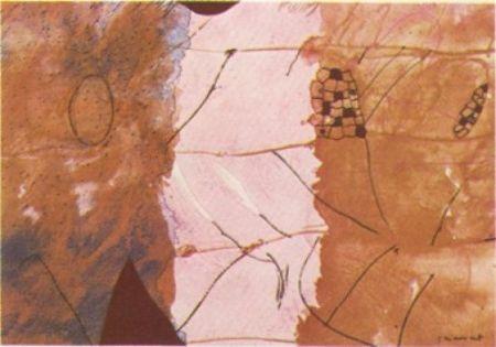 リトグラフ Guégan - Nura