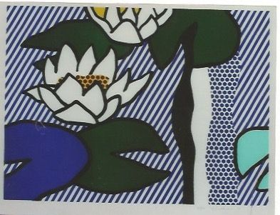 リトグラフ Lichtenstein - Nympheas - Water Lilies