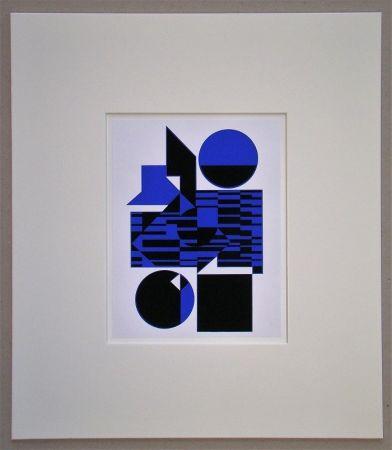 シルクスクリーン Vasarely - OB - 1956