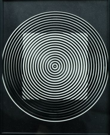多数の Vasarely - Objet Cinétique