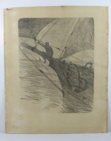 技術的なありません Toulouse-Lautrec -  Oceano Nox. 1895. 1er état. Numérotée.