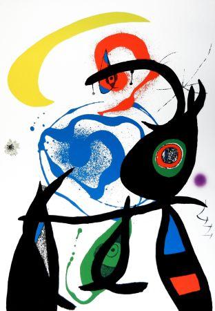 リトグラフ Miró - Oda a Joan Mirò