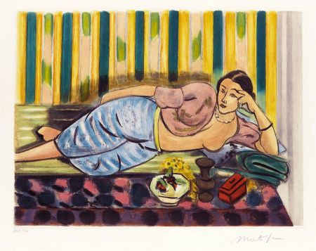 アクチアント Matisse - Odalisque au Coffret Rouge (Odalisque with Red Box)