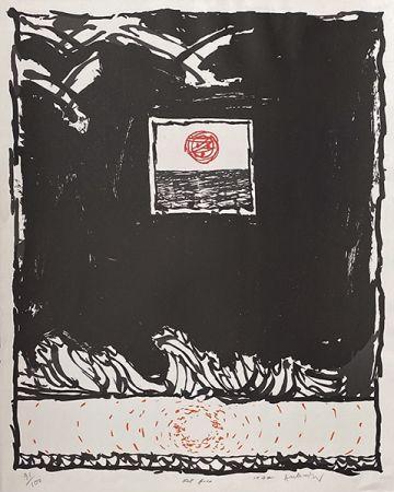 リトグラフ Alechinsky - Oeil fixe