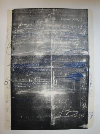 リトグラフ Tàpies - Oeuvre gravé