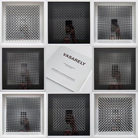 多数の Vasarely - Oeuvres Profondes Cinetiques