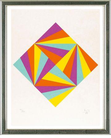 シルクスクリーン Bill - Ohne Titel (Rhombus)