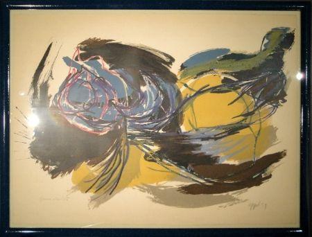 リトグラフ Appel - Oiseau de l'aube