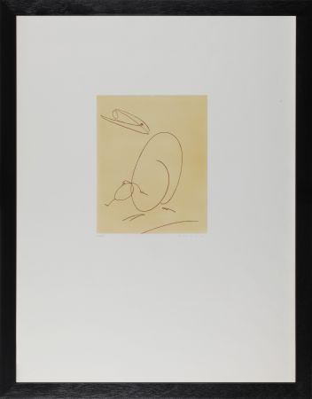 エッチング Ernst - Oiseau mére