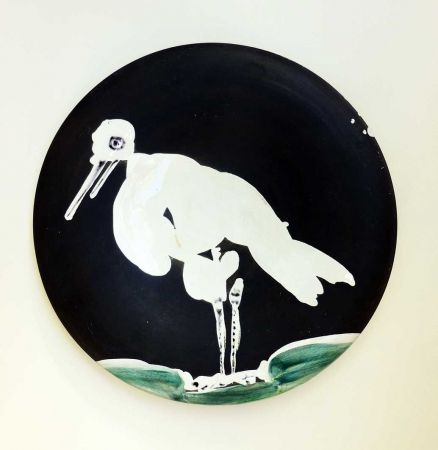 セラミック Picasso - Oiseau n° 83