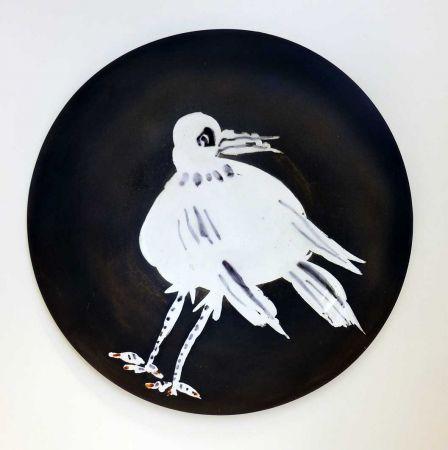 セラミック Picasso - Oiseau n° 93