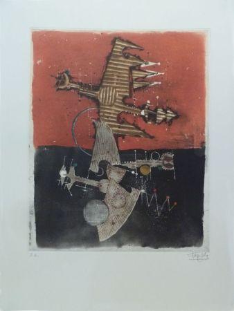 エッチングと アクチアント Friedlaender - Oiseaux