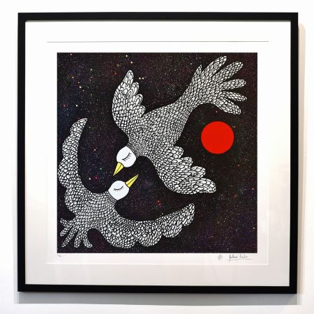 デジタル版画 Cavalier - ''Oiseaux Célestes ''