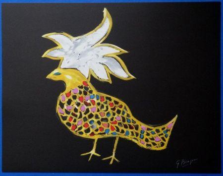 リトグラフ Braque - Oiseaux De Feu Phoenix