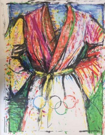リトグラフ Dine - Olympic Robe