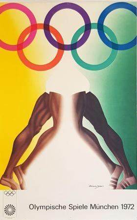 掲示 Jones - Olympishe  Spiele  Munchen  1972