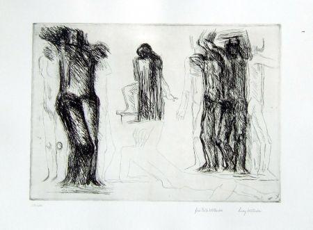 彫版 Wotruba - Omaggio a Michelangelo