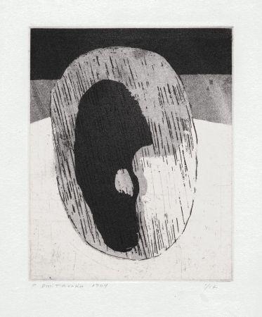 リトグラフ Dmitrienko - Ombre I