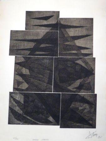 彫版 Adam - Ombres gravées