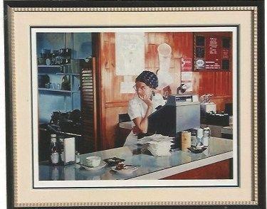 シルクスクリーン Goings - One Eleven Diner